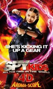 Mali agenci: wyścig z czasem w 4d online / Spy kids: all the time in the world online (2011) | Kinomaniak.pl