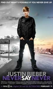Justin bieber: never say never online (2011) | Kinomaniak.pl