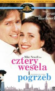 Cztery wesela i pogrzeb online / Four weddings and a funeral online (1994) | Kinomaniak.pl