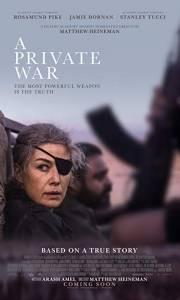 A private war online (2018) | Kinomaniak.pl